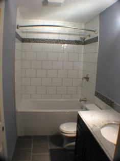 All Craft Industries Ltd - Galley style bathroom